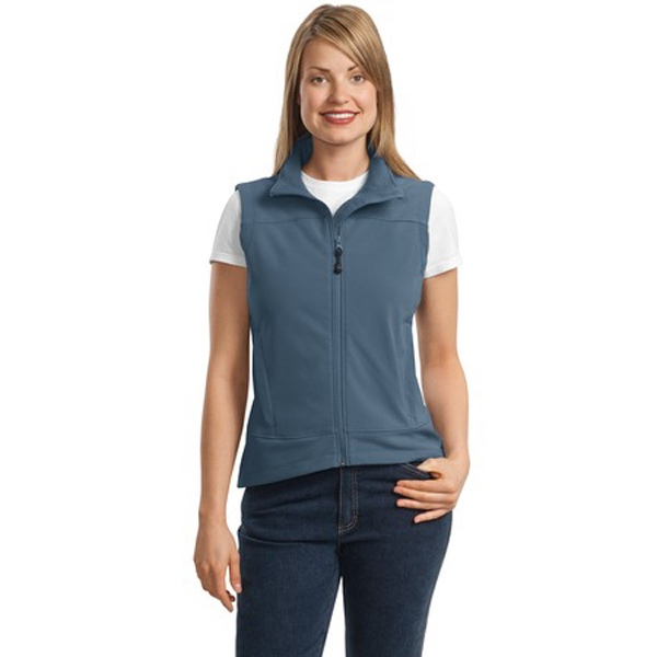 Port Authority (r) Glacier (r) - 4 X L Colors - Ladies' Soft Shell Vest With Front Zippered Pockets Photo