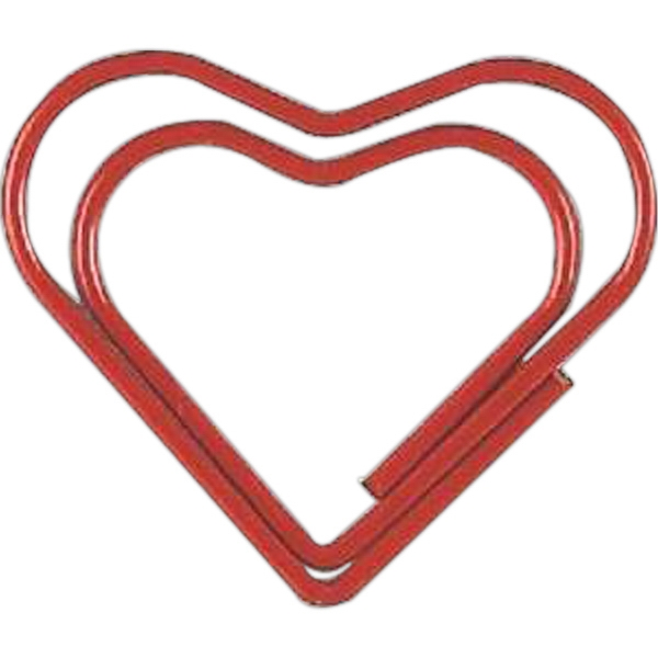 Clipsters - Red Heart Shape Clipsters - 10 Style Clips Per Zipper Pouch Photo