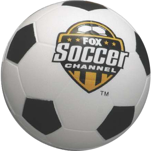 "Soccer Ball - Sports Ball Stress Reliever, 2 1/2"" Diameter Photo"
