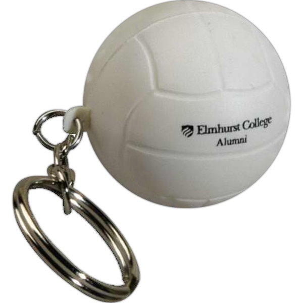 "Sports Stress Reliever With Key Chain, 1 1/2"" Diameter Photo"