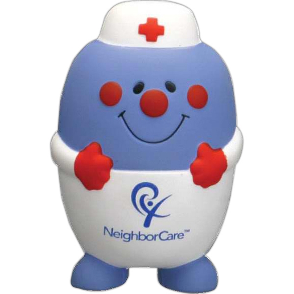 Pill Nurse Character Shape Stress Reliever Photo