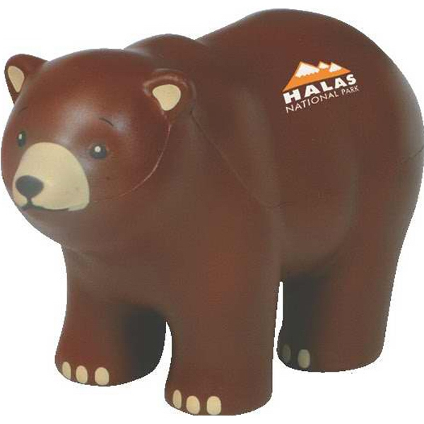 Bear - North American Bear Shape Stress Reliever Photo