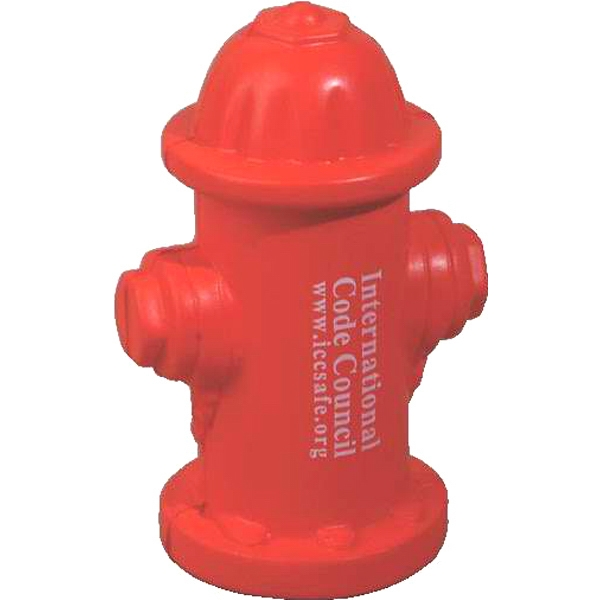 Fire Hydrant Shape Stress Reliever Photo
