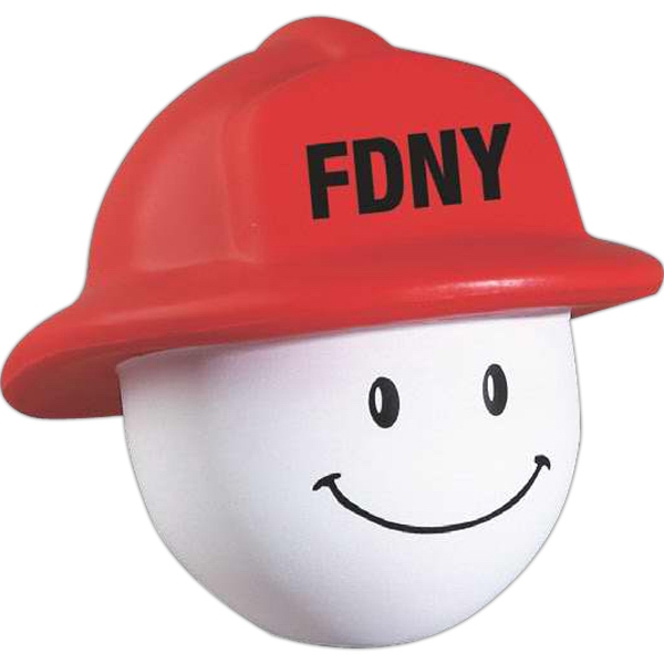 Fireman Mad Cap Character Stress Reliever Photo