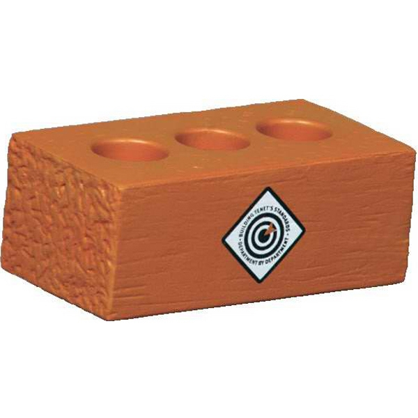 Brick With Holes Shape Stress Reliever Photo