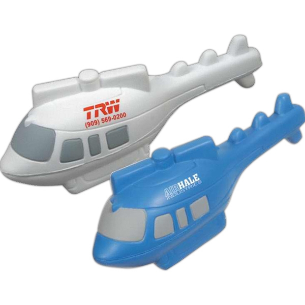 Helicopter - Service Vehicle Shape Stress Relievers Photo