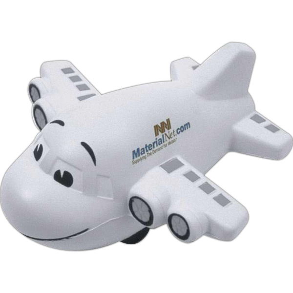 Large Airplane Shape Stress Reliever Photo