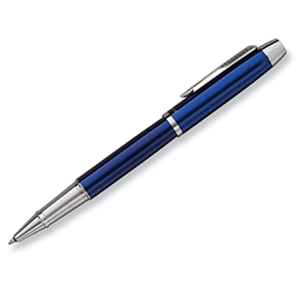 Parker Im - Blue - Luxurious Roller Ball Pen With The Finest Lustrous Finish And Chrome Trim Photo