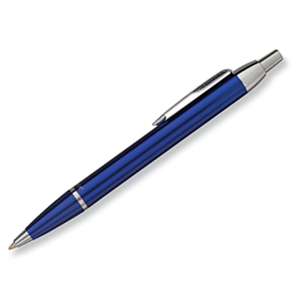 Parker Im - Blue - Luxurious Ballpoint Pen With The Finest Lustrous Finish And Chrome Trim Photo