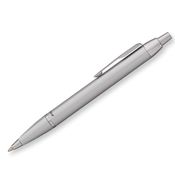 Parker Im - Silver - Luxurious Ballpoint Pen With The Finest Lustrous Finish And Chrome Trim Photo