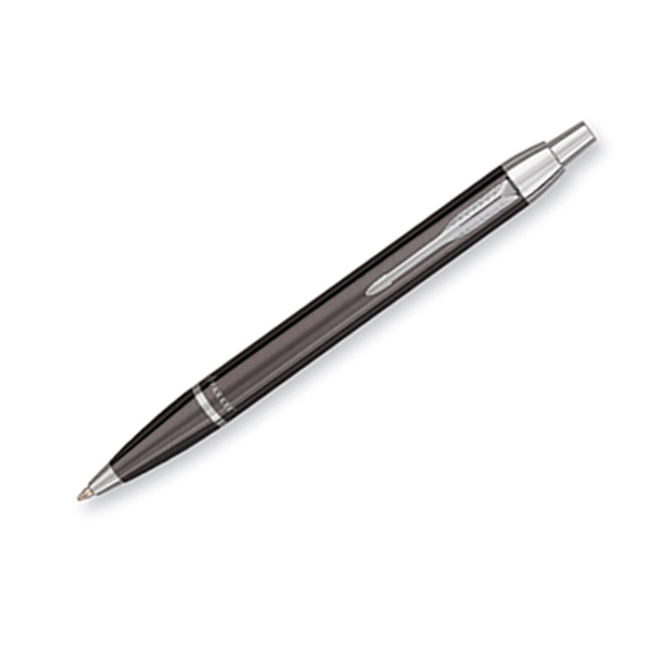 Parker Im - Gunmetal - Luxurious Ballpoint Pen With The Finest Lustrous Finish And Chrome Trim Photo