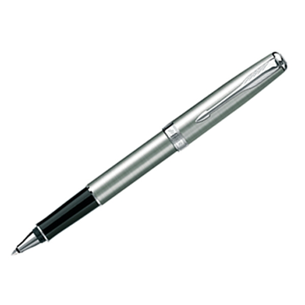 Sonnet (r) - Chrome Plate - Stainless Roller Ball Pen With Elegant Finish On Clip And Trim Photo
