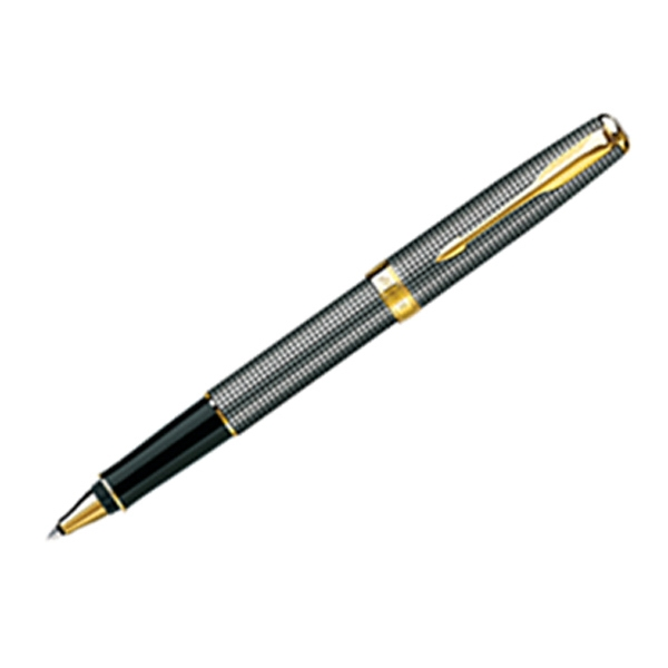 Cisele Sonnet (r) - Roller Ball Pen With Elegant Design And Gold Plate Trim Photo