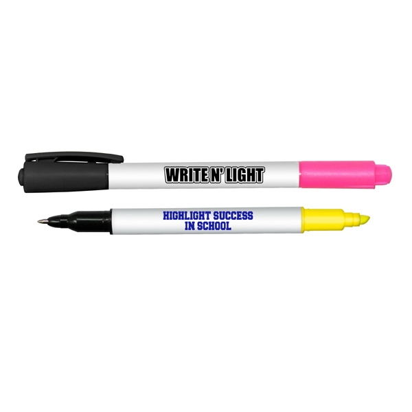 Write N' Light - Write N Light Double Ended Highlighter And Ball Point Pen Combo Photo