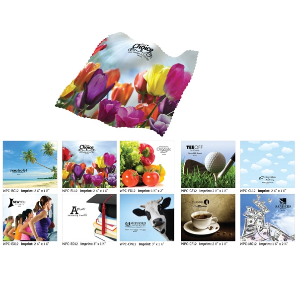 Flowers - Premium Microfiber Cleaning Cloth Photo