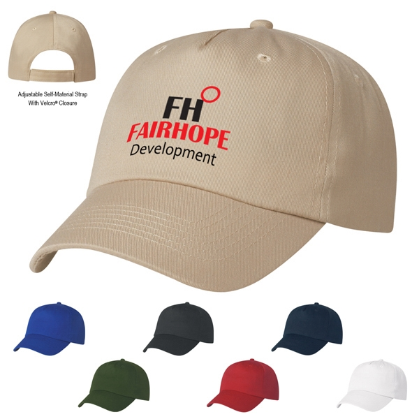 Silkscreen - 5 Panel Polyester Cap Photo