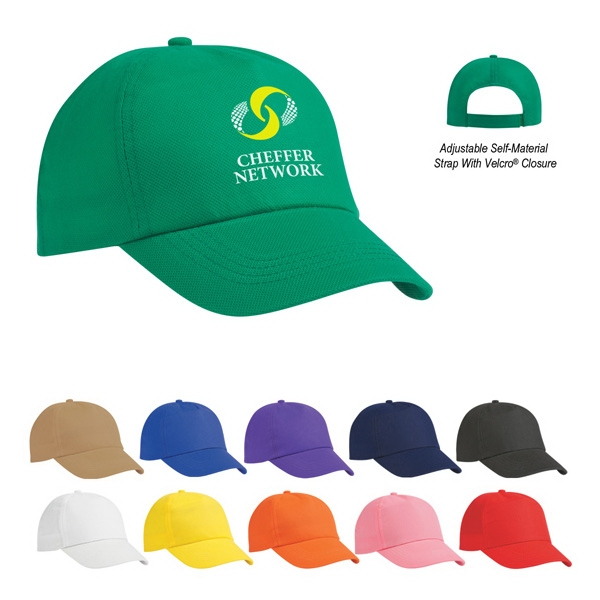 Hitwear (r) Budget Saver - Non-woven Polypropylene 5 Panel Cap Photo