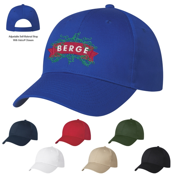 Embroidery - 6 Panel Polyester Cap Photo