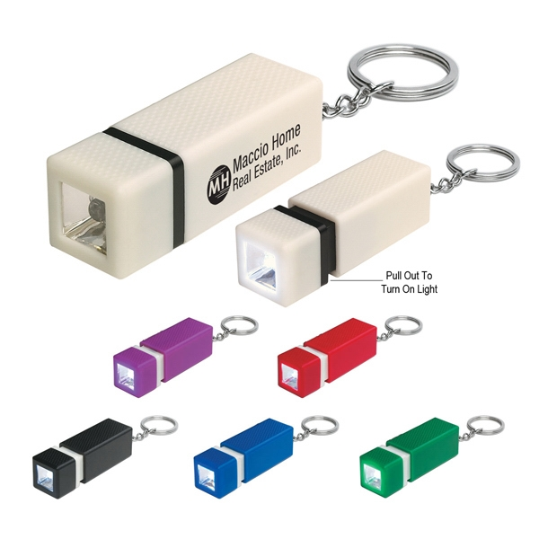 Square Led Key Chain Photo