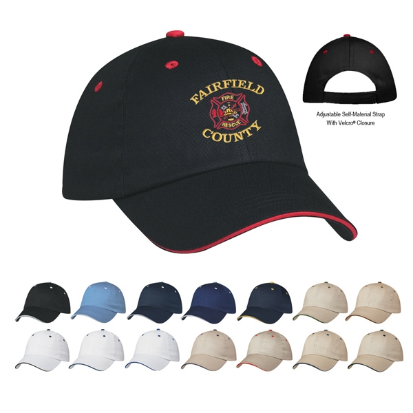 Hitwear (r) Price Buster - Embroidery - 100% Cotton Twill, Medium Profile Cap With Six Panels And Structured Crown Photo