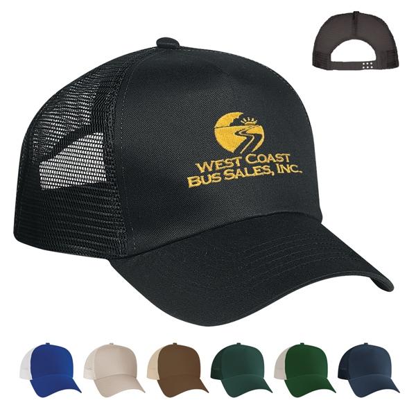 5 Panel Mesh Back Price Buster Cap