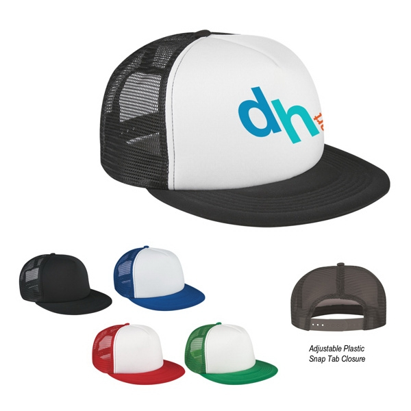 Hitwear (r) - Flat Bill Trucker Cap Photo