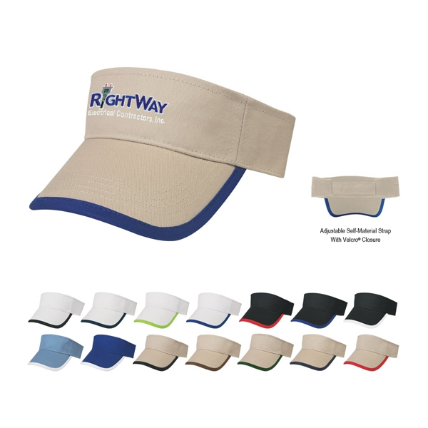 Hitwear (r) Price Buster - Embroidery - Visor With Trim Photo
