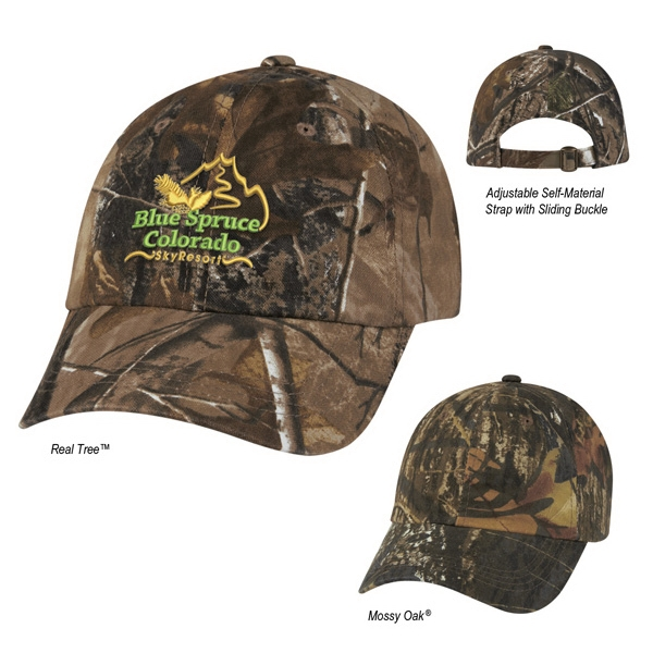 Hitwear (r) Hunter's Hideaway - Camouflage Cap, 6 Panel, Low Profile 100% Brushed Polyester Twill Photo
