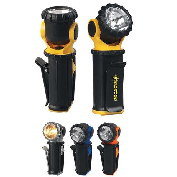 Swivel Flashlight, Head Rotates 360 Degrees Photo