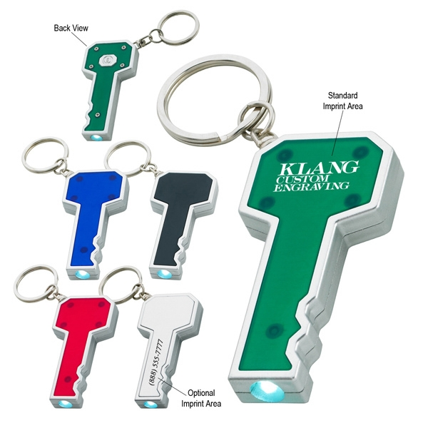 Key Shape Led Key Chain. Batteries Included Photo