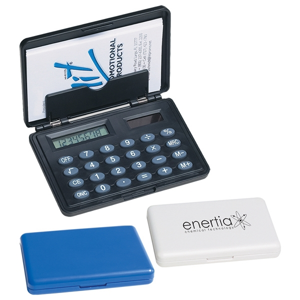 Business Card Holder/calculator Photo