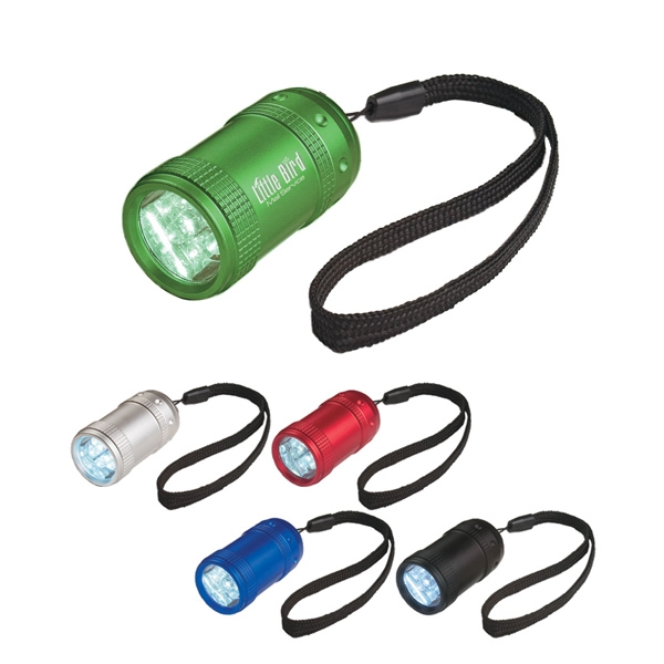 Stubby - Small Aluminum Led Flashlight With Strap Photo