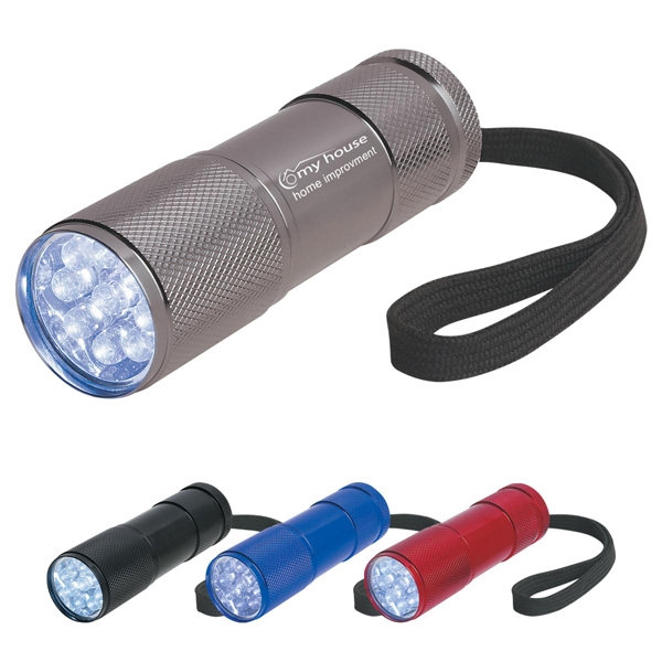 The Stubby - Aluminum Led Flashlight With Strap Photo