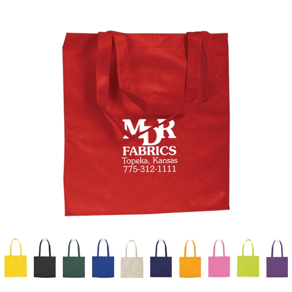 Non-woven, 80 Gram, Water Resistant Polypropylene Promotional Tote Photo