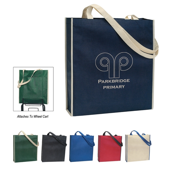 "Non-woven Tote Bag With 31"" Handles Photo"