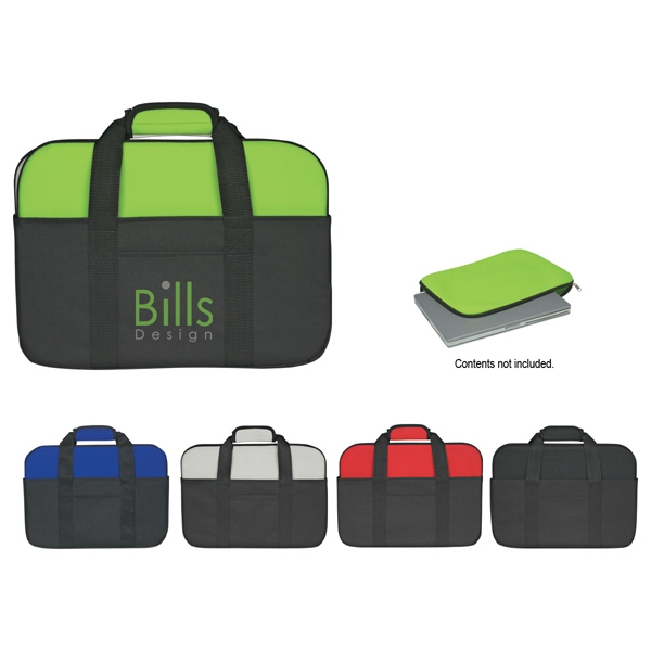 Silkscreen - Neoprene Laptop Case With Front Pocket Photo