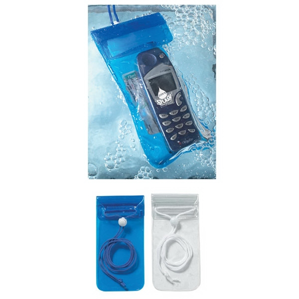 Handy Waterproof Pouch With Neck Cord Photo
