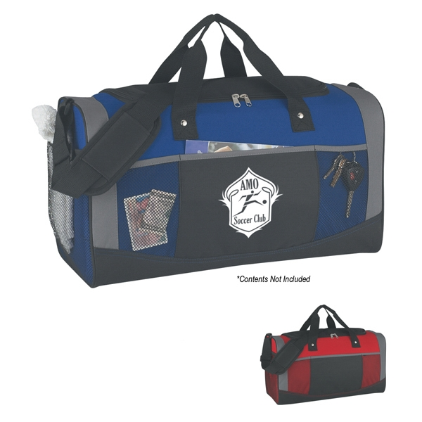 Quest - Transfer - Polyester Duffel Bag With Web Carrying Handles And Adjustable Shoulder Strap Photo