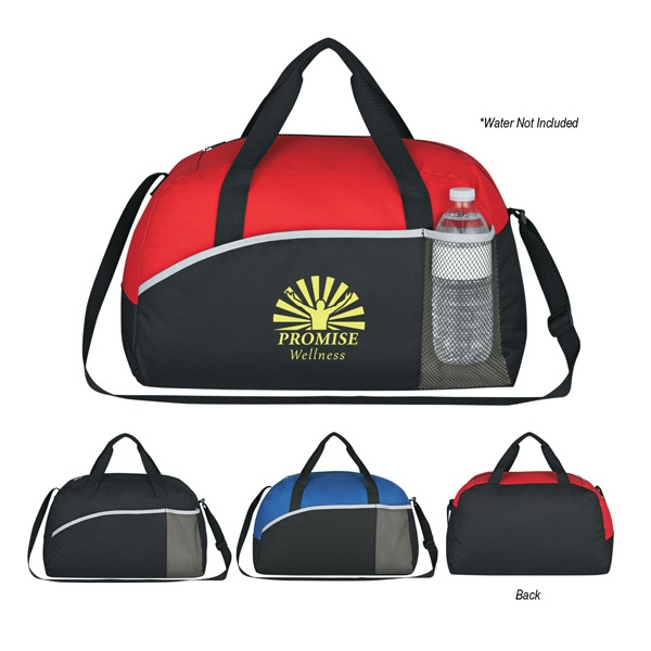 Silkscreen - Polyester Duffel Bag With Large Zippered Compartment Photo