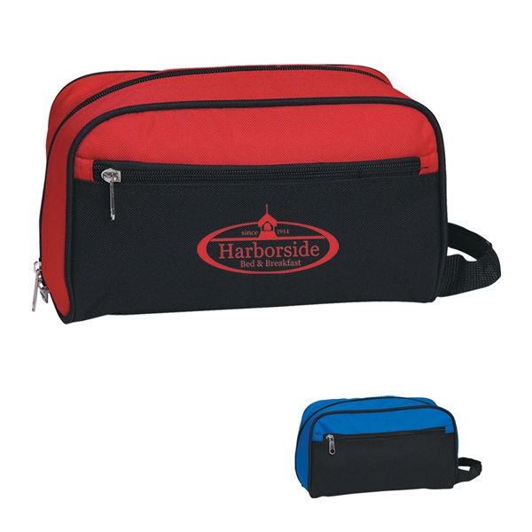 Toiletry Bag, Made Of 600 Denier Polyester With Side Handle For Easy Carrying Photo