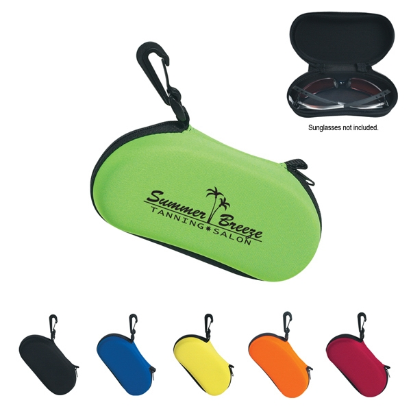 Sunglass Case With Clip Photo