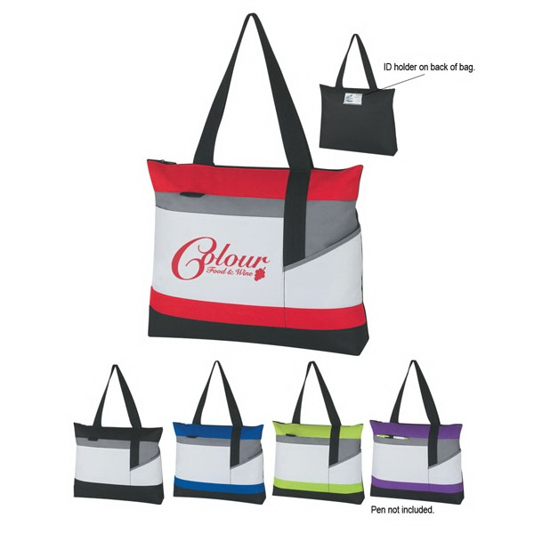 "Advantage - Silkscreen - Polyester Tote Bag With 22"" Handles Photo"