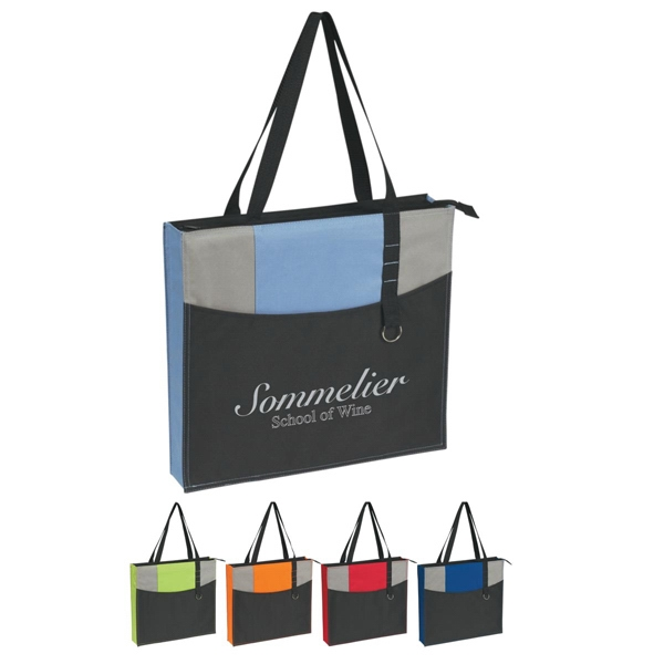 Expo - Embroidery - Tote Bag, Made Of 600 Denier Polyester Photo