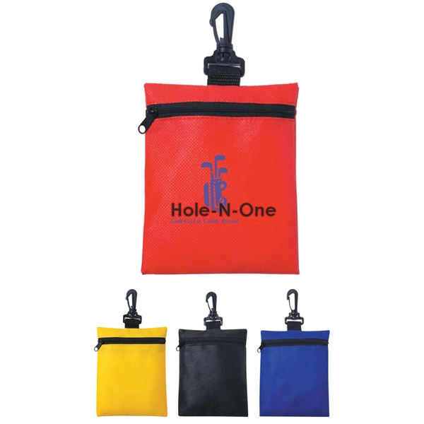 Non-woven Zippered Pouch Photo