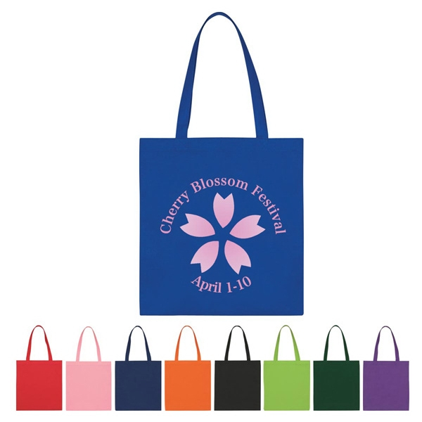 "Non Woven Economy Tote Bag With 22"" Handles Photo"