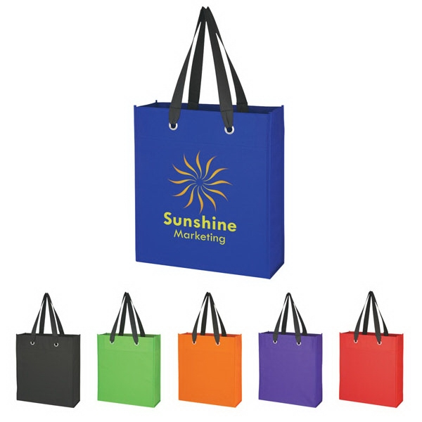 Non-woven, 80 Gram, Water Resistant Polypropylene Tote Bag Photo