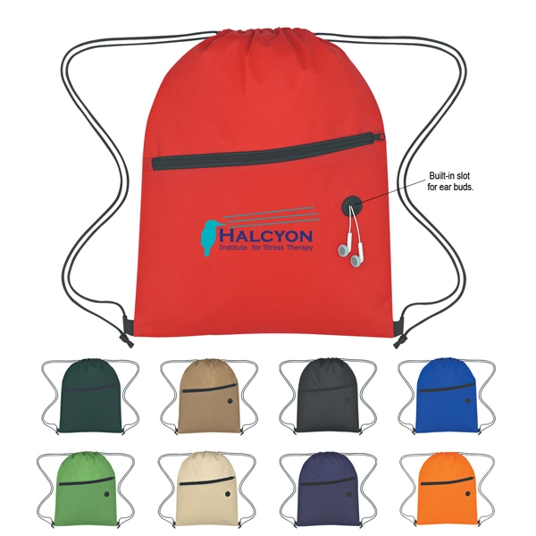 Sports Pack Made Of 80 Gram Non-woven, Coated Water Resistant Polypropylene Photo