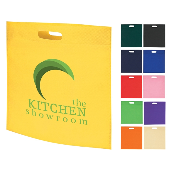 Large Heat Sealed Non-woven Exhibition Tote Bag Photo