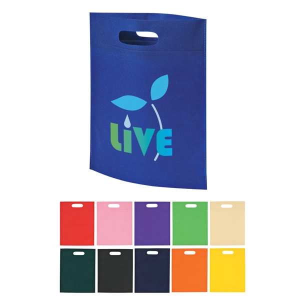 Heat Sealed Non-woven Exhibition Tote Bag Photo
