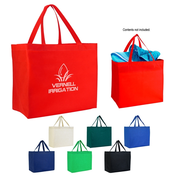 Grande - Tote Bag Made Of 80 Gram, Non-woven Coated Water-resistant Polypropylene Photo